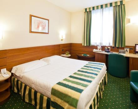 Looking for service and hospitality for your stay in Milan? Book a room at the BEST WESTERN Hotel Mirage