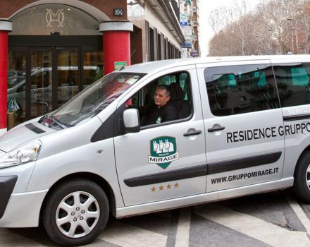 Shuttle service from the hotel to and from the major exhibition centres-BW Hotel Mirage Milan