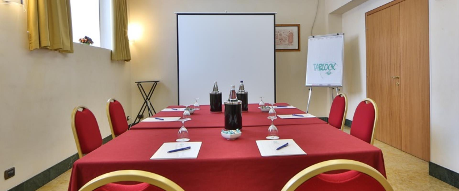 The Hotel Milano has meeting rooms equipped with all comforts