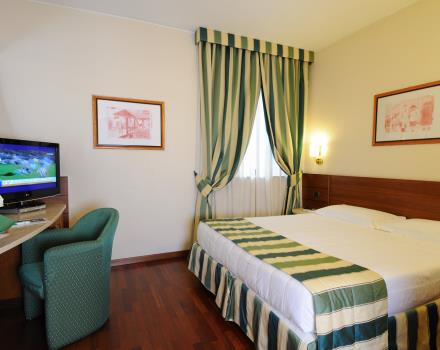 Discover the comfort of the guest rooms at BEST WESTERN Hotel Mirage Milan