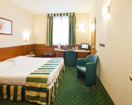 At the BEST WESTERN Hotel Mirage you will find 86 rooms equipped with every comfort.