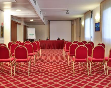 The BW Hotel Mirage in Milan has spacious conference rooms for hosting corporate events