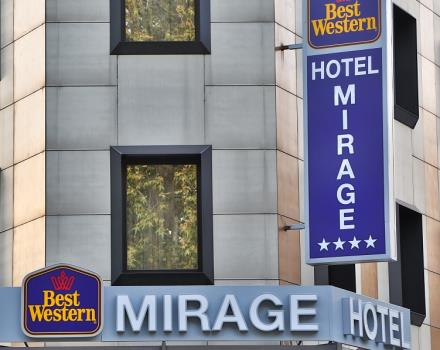 The Best Western Hotel Mirage, Milan is in a strategic position of the city