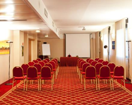 Discover the conference rooms in the BEST WESTERN Hotel Mirage and organize your events in Milan