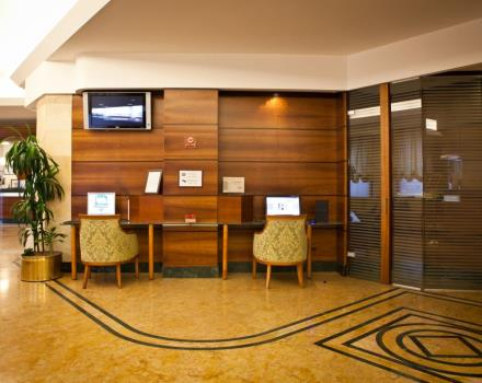 Looking for service and hospitality for your stay in Milan? Then Hotel Mirage is the hotel for you