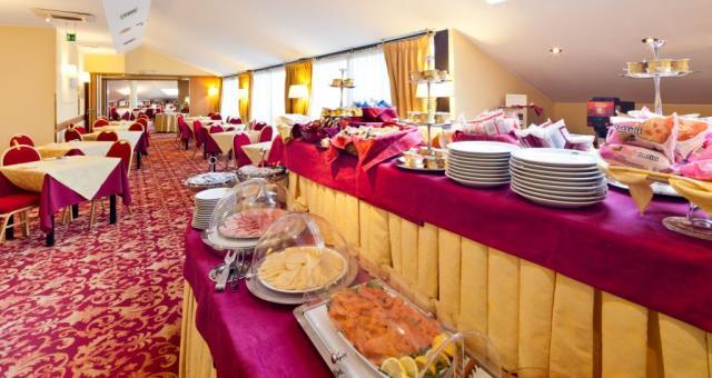 Breakfast 4 star hotel in milan best western mirage for Best brunch in milan